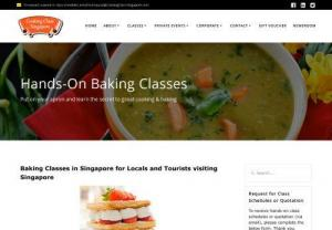 Singapore Hands-on Baking Class
