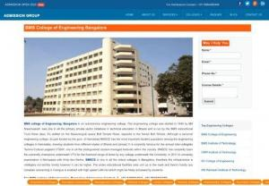 BMS Engineering College - BMS college of Engineering accomplish Excellence in the field of Technical Education through Education,  Research and Service needs of society