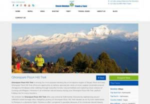 Ghorepani Poon Hill Trek, Trekking in Ghorepani and Poon Hill - Ghorepani Poon Hill Trek is a moderate level journey that doesn't requires high level of physical fitness and has no risks of altitude sickness whatsoever.
