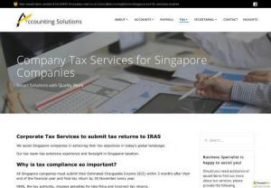 Singapore Tax Compliance Services