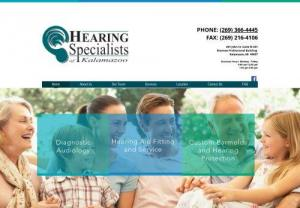 Top Hearing Specialist of Kalamazoo and Michigan - Hearing Specialist of Kalamazoo is best Audiology Practice and Hearing Healthcare Center provides the quality treatment by a licensed audiologist in Michigan. Ring us at (269) 366-4445 to book an appointment.