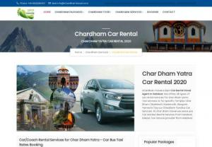 Chardham Car Rental 2018-Best Taxi Bus Car Service - Offer Vehicle (car,  taxi,  bus,  tempo transport) Char Dham Yatra 2018 at economical price with reliable assistance from Chardham TravelBook