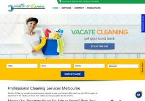 Vacate Carpet Cleaning Melbourne - Call 0470450390 Or Book Online - Ministry Of Cleaning offers professional cleaning services like Vacate Cleaning Melbourne and Carpet Cleaning Melbourne across all suburbs 7 days a week. Call 0470450390 to get a free quote or Book Online. Our fully trained and skilled professionals are equipped with all required cleaning products and equipment.