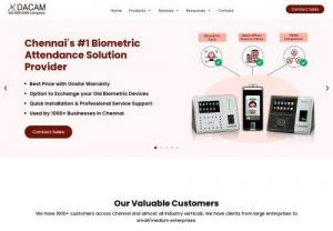 CCTV Camera Dealers in Chennai - DACAM Systems is one of the leading CCTV Camera Dealers in Chennai. We Provide best price in CCTV in Chennai,  Provide excellent CCTV Services in Chennai & we are one of the leading Biometric Attendance Solution Provider in Chennai. We Provide the best price in Biometrics in Chennai,  Provide excellent Biometric Attendance Services in Chennai #CCTVCamera #BiometricAttendanceSystem