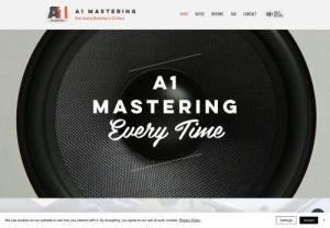 A1 Mastering - Affordable and Professional Online Analog Mastering Service with the best quality audio results in the music industry. Get your songs mastered within 24 hours!