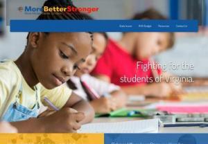MoreBetterStronger | Fight for Students in Virginia
