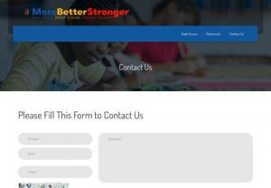 Contact Us | MoreBetterStronger | For Quality Education In Richmond