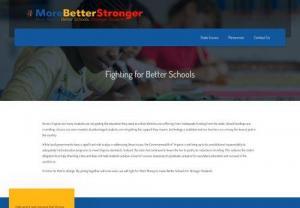 Fighting for Better Schools - for students in Virginia | MoreBetterStronger