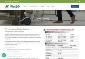 Carpet Cleaning Singapore - Absolute Carpet Cleaning is the leading rug and carpet cleaning company in Singapore. Call us today and find out how much does carpet cleaning cost in Singspore. Call us today: 6844 8444