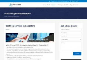 Seo Services in Bangalore - Best SEO Training in Bangalore - Learn Advanced White Hat SEO (Search Engine Optimization) Techniques 